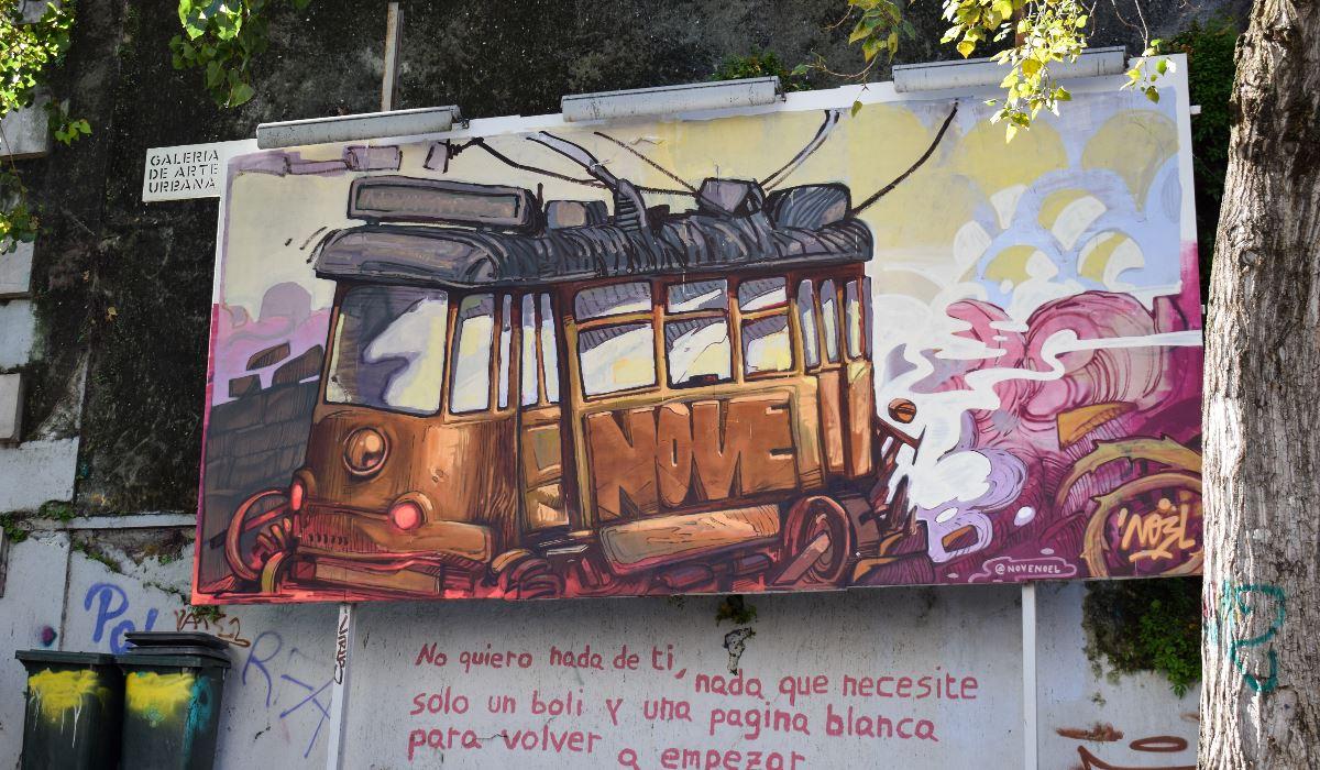 "Conheça Lisboa, a ""capital da arte urbana"""