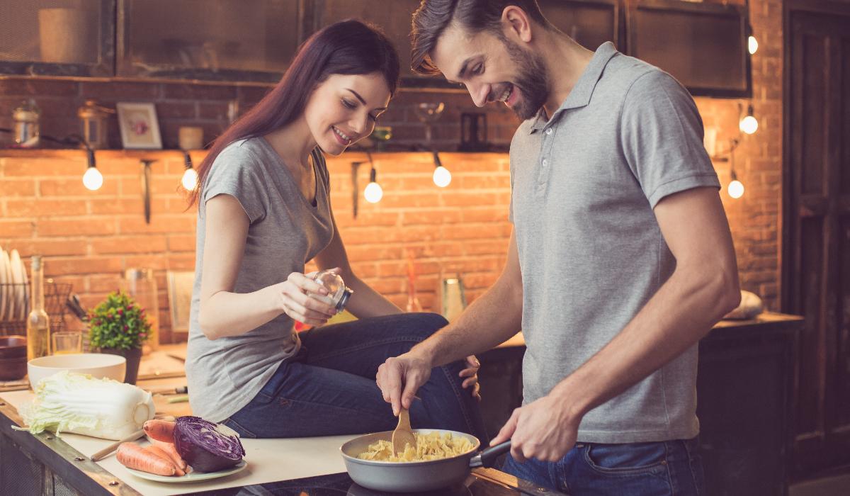 A felicidade (também) passa pela cozinha