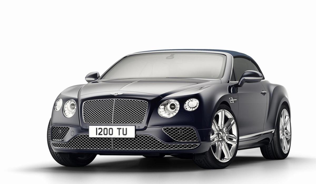 Bentley Continental GT prepara adeus em grande