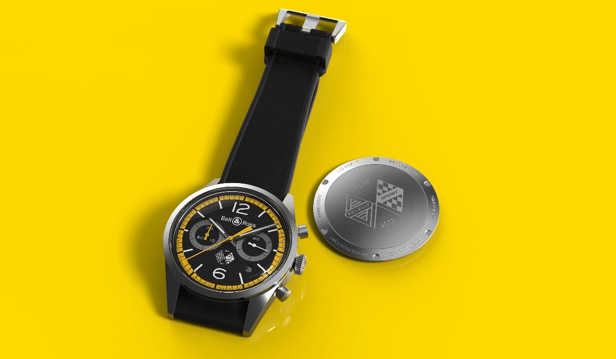 Relógio celebra 40 anos da Renault na Fórmula 1