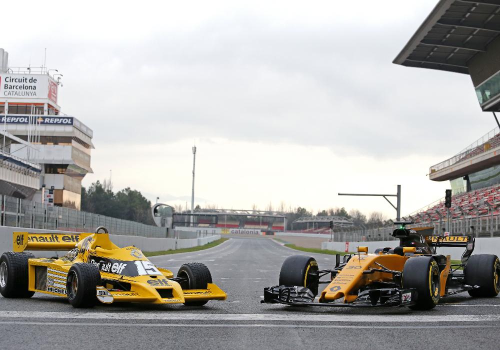 Relógio celebra quarenta anos da Renault na Fórmula 1