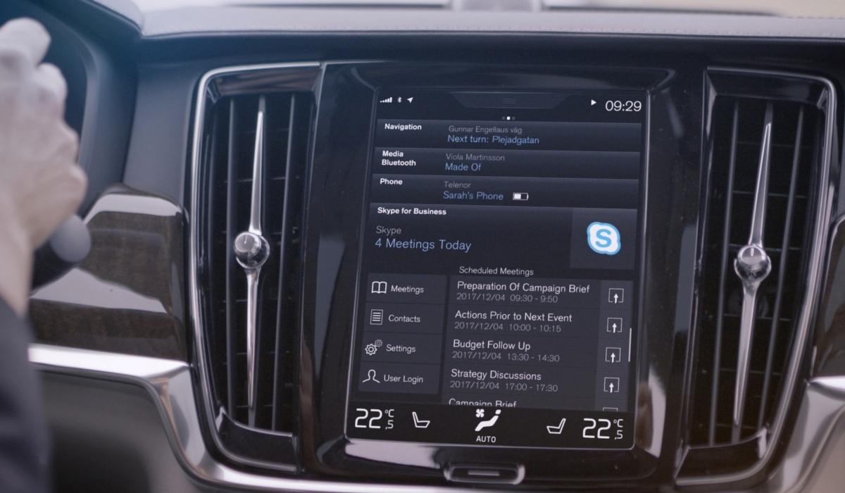 Skype chega aos automóveis