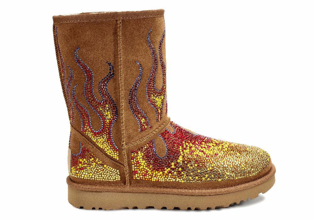 As botas que prestam homenagem à cultura pop