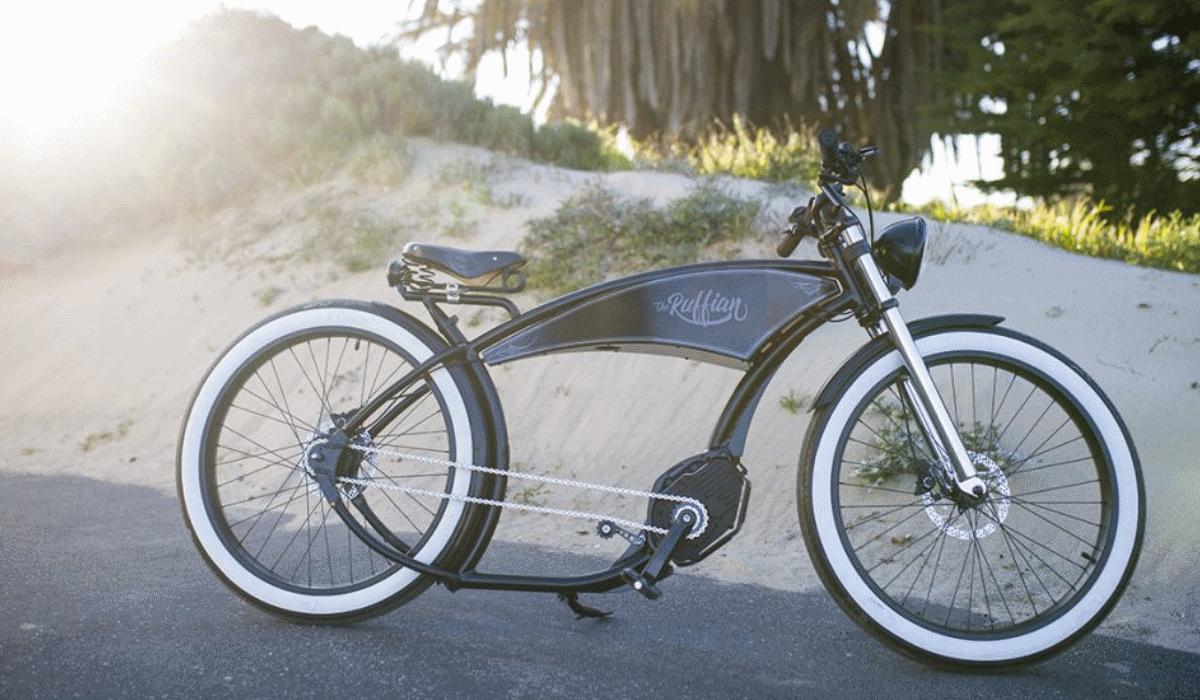 Bicicleta ecológica de estilo retro