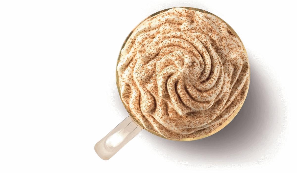 O novo latte de edição limitada e sabor perfeito