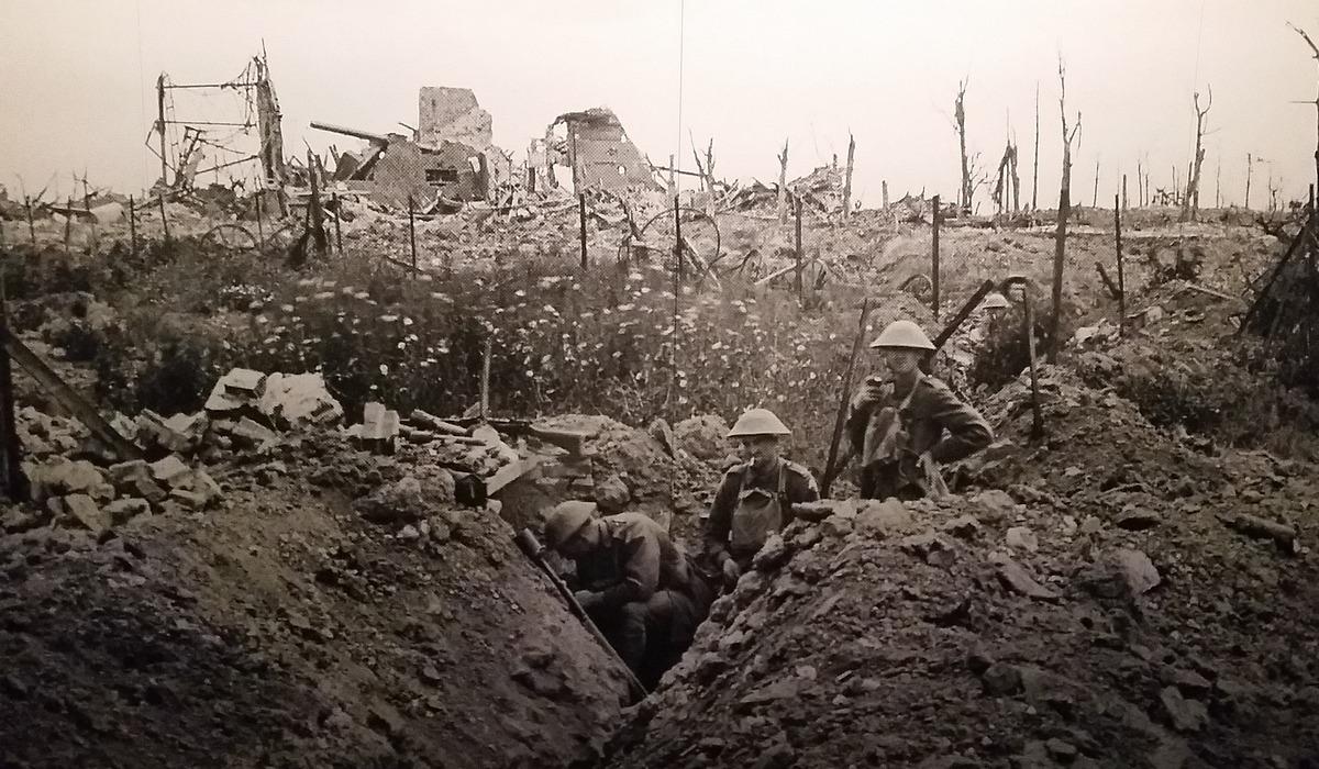 Português foi herói na I Guerra Mundial