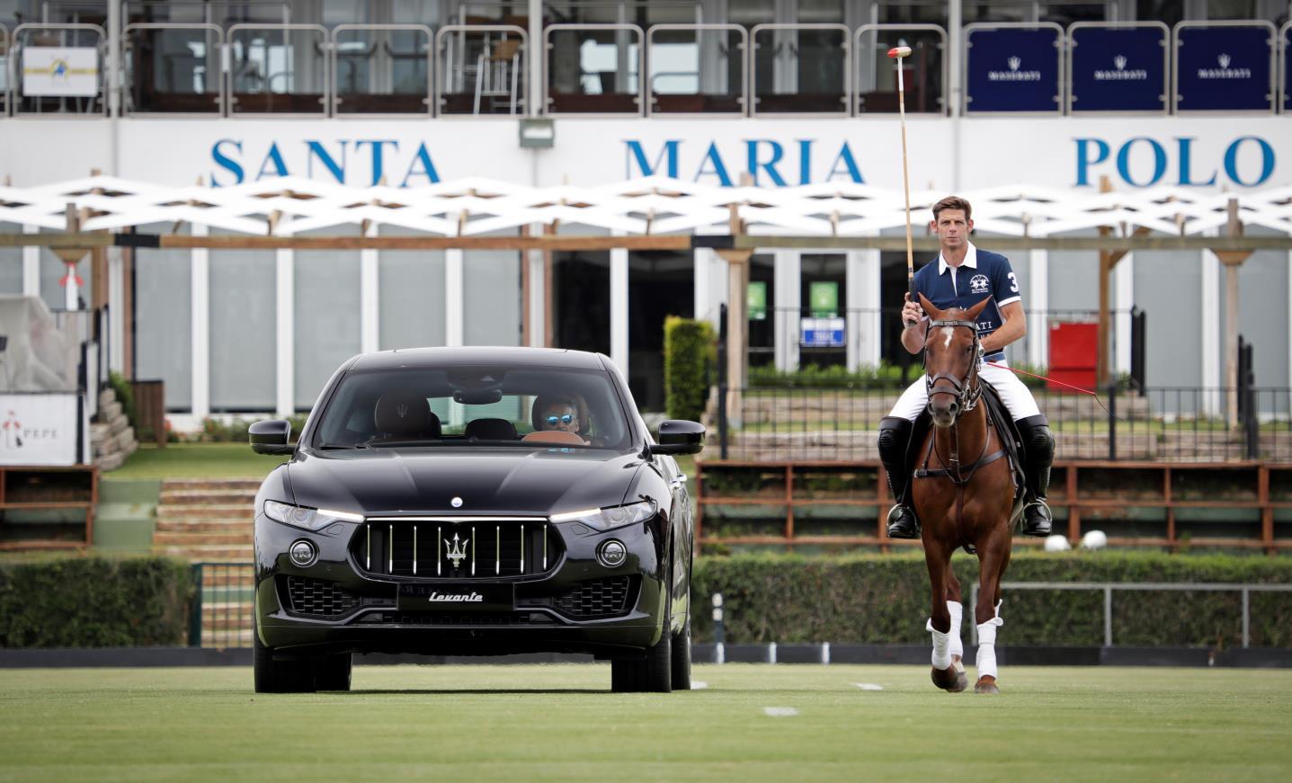 Maserati em grande Torneio Internacional de Polo