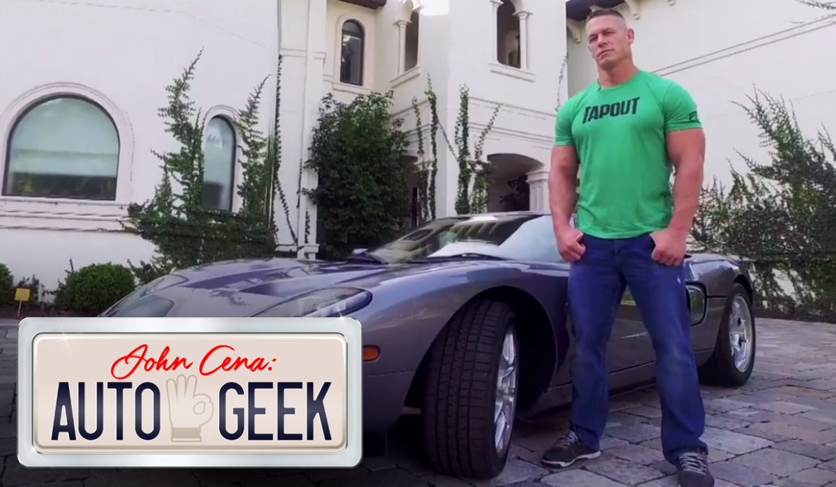 John Cena. Poder no ringue e ao volante