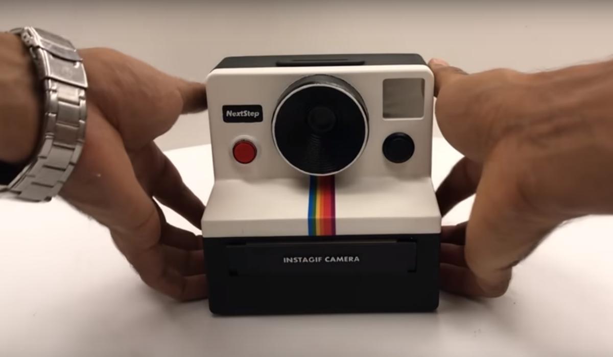 Eis a câmara caseira que tira fotos animadas
