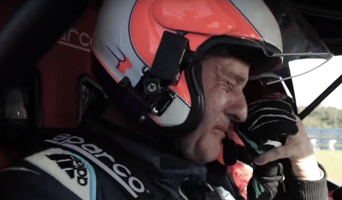 Barrichello emociona-se com talento do filho