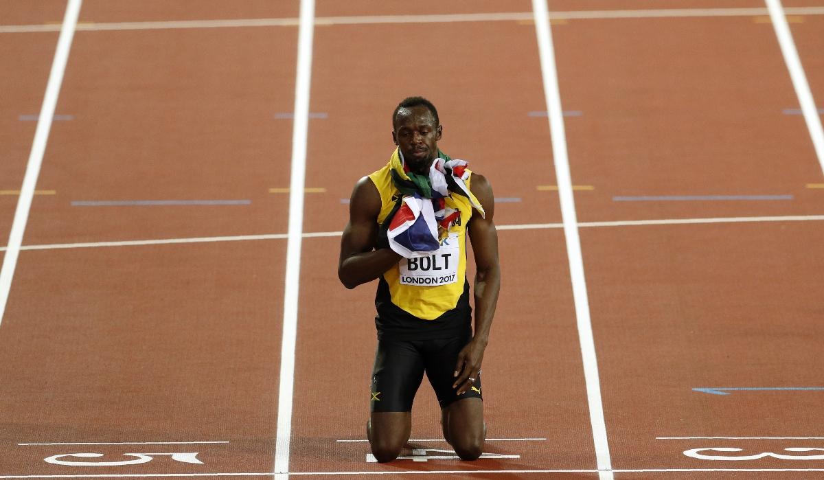 Chegou o fim: Usain Bolt não voltará a correr