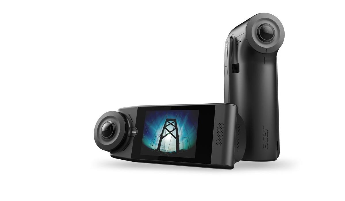 Acer lança duas câmaras de 360º com ligação 4G