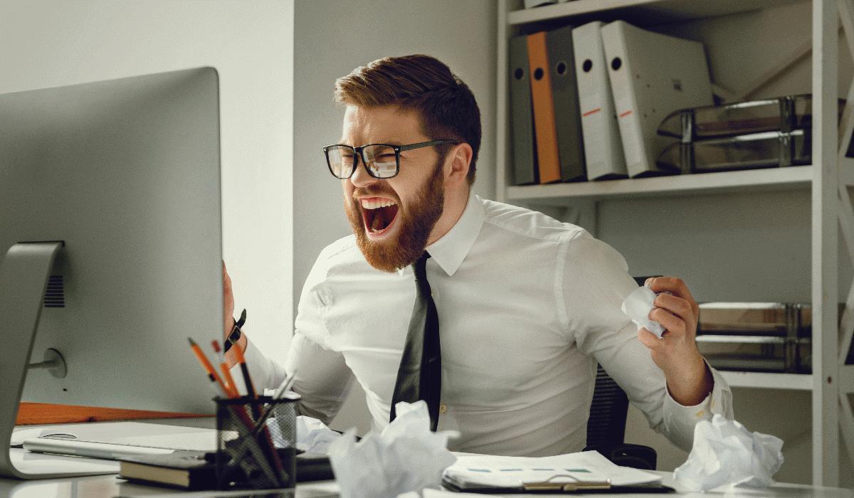 Acaba com o stress relacionado com o trabalho