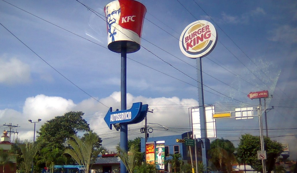 Nunca foi tão fácil pedir fast-food…