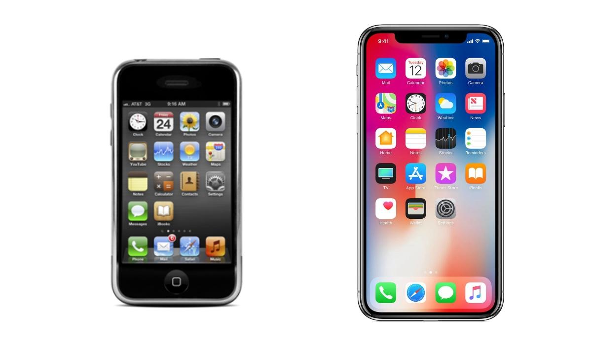 Do iPhone 1 ao X: O que mudou em 10 anos?