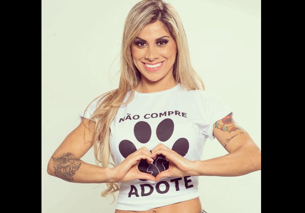 A gata que dá mais encanto ao Dia do Animal