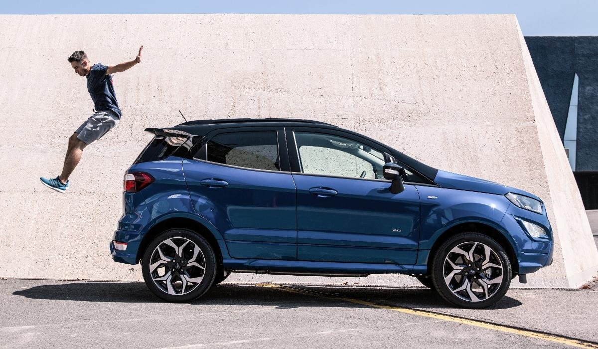Novo SUV EcoSport da Ford arranca na Roménia