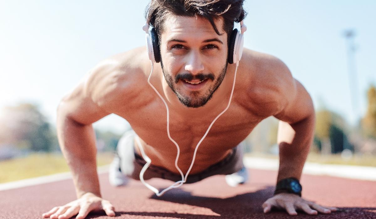 A música certa ajuda no exercício físico