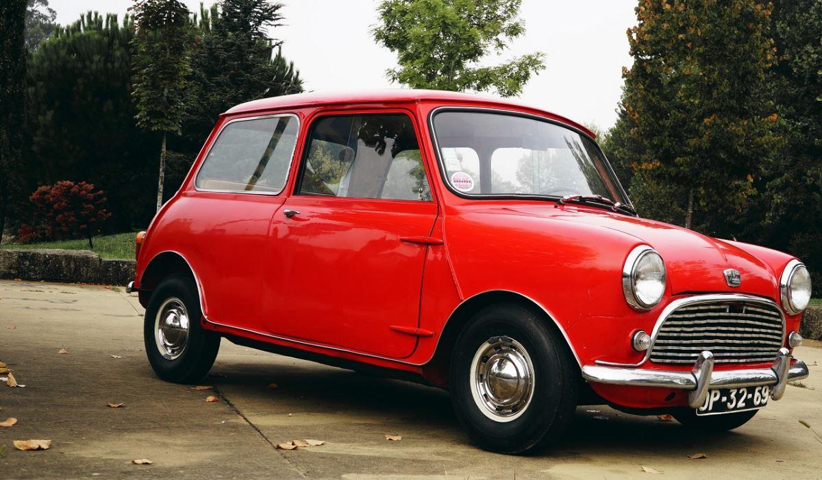 Original do primeiro modelo da Mini em leilão