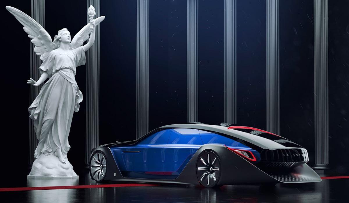 Luxo sobre rodas diretamente do futuro