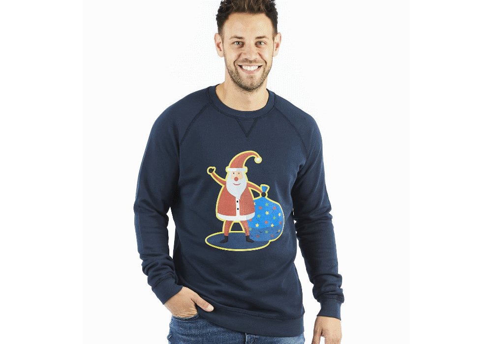 Camisolas «feias» para animares o jantar de Natal