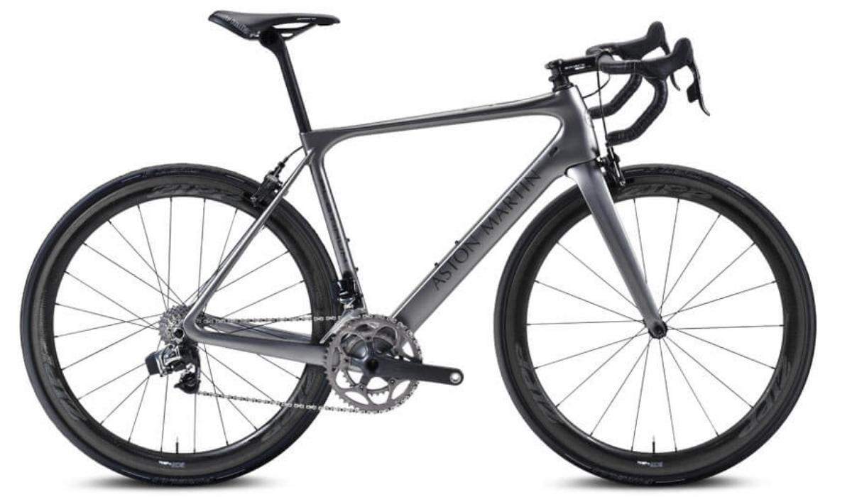 A bicicleta topo de gama que muda de cor