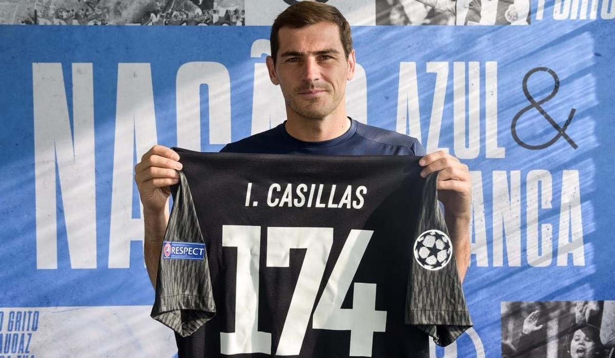 Casillas é o novo morador do Olimpo do futebol