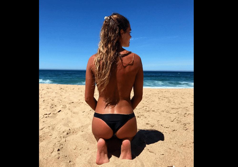 Miss dezembro revela beleza do atletismo nacional