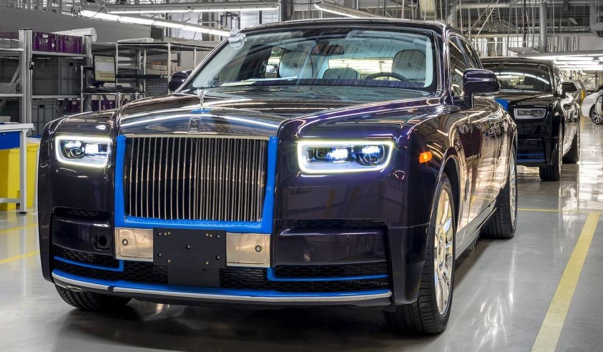 Vai a leilão o primeiro Rolls-Royce de 2018