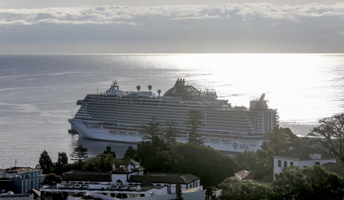 A bordo do navio mais luxuoso do mundo