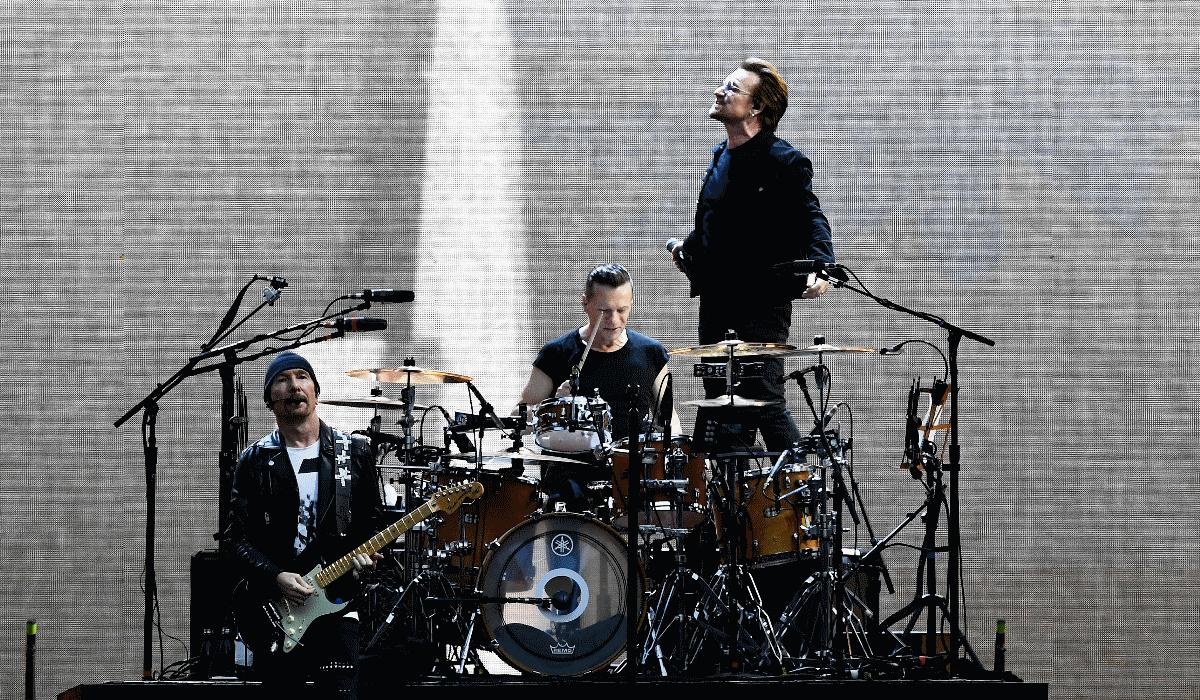 U2 a caminho de Portugal