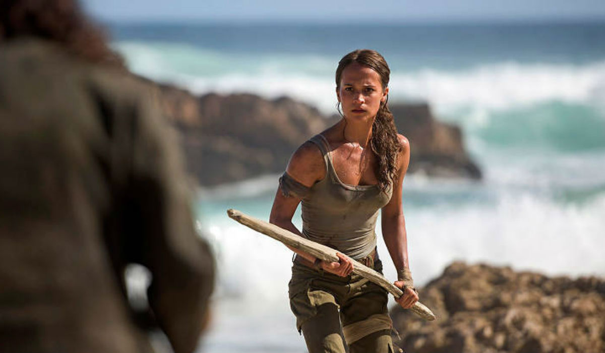 Alicia Vikander deu no duro para ser Lara Croft