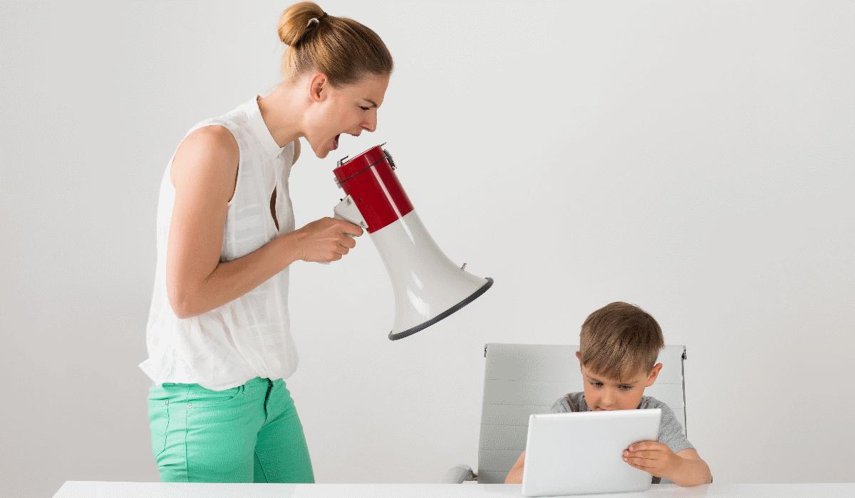 7 opções para evitar gritar com os filhos