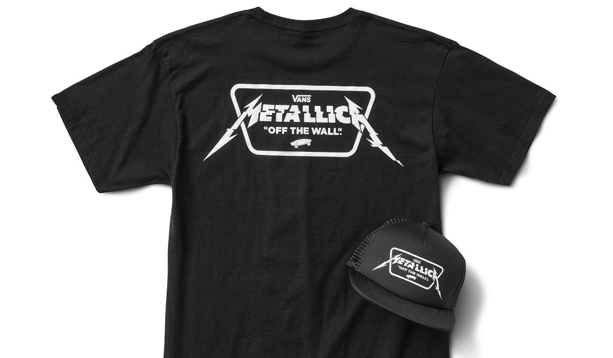 Vans lança coleção inspirada nos Metallica