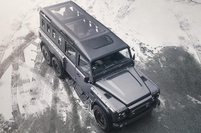 Luxo e nove lugares no «novo» Land Rover Defender