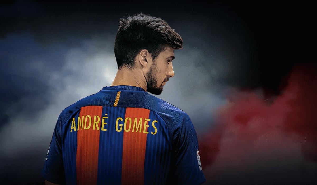 André Gomes sente vergonha no FC Barcelona