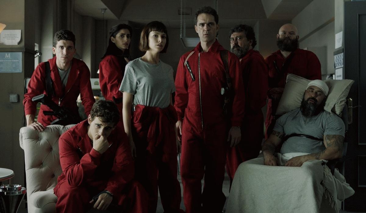 Netflix em abril é sinónimo de La Casa de Papel