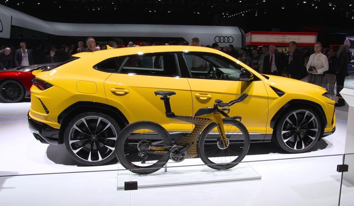 P5X. A bicicleta de luxo da Lamborghini