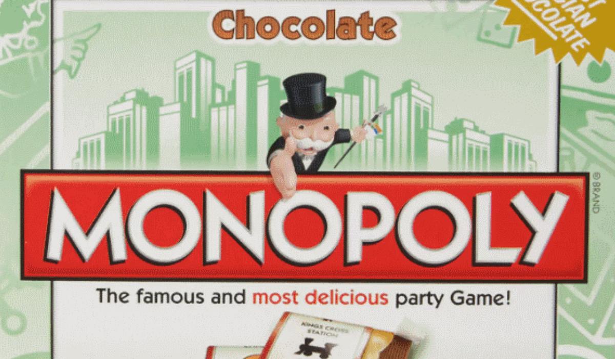 Agora já pode comer o Monopólio e outros jogos