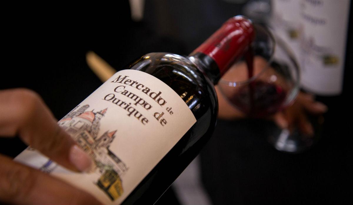 Três dias em que o vinho é rei e senhor neste mercado