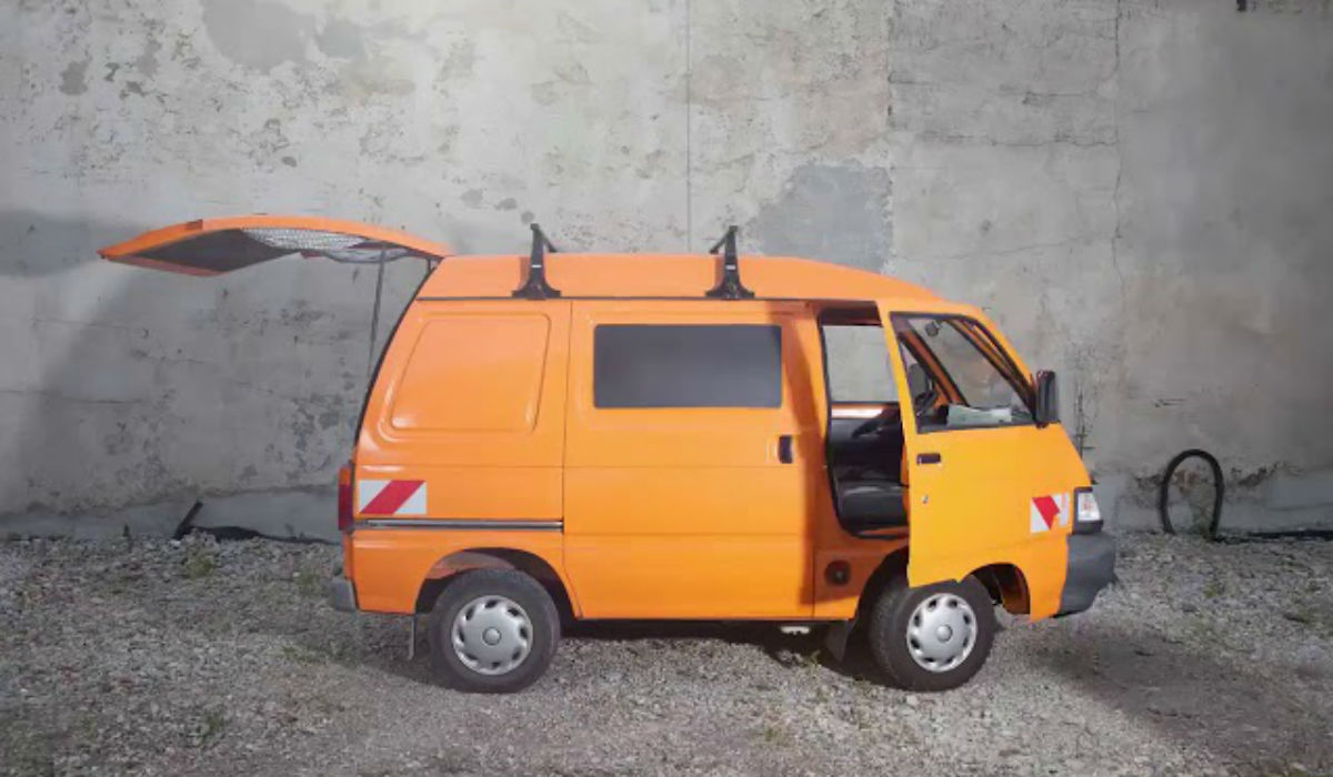 Esta é a autocaravana mais pequena do mundo e é espetacular