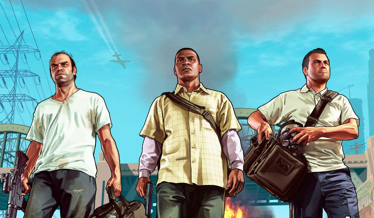 Grand Theft Auto V. Muitos milhões acima de todos os outros