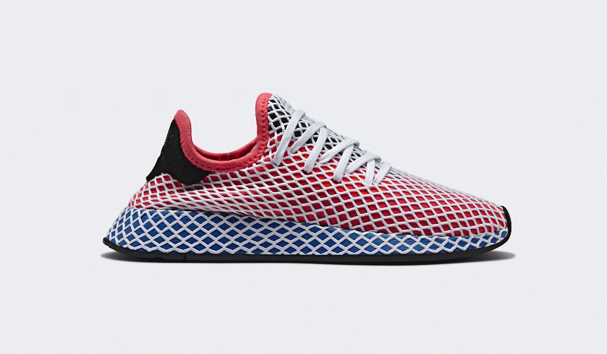 Adidas Deerupt misturam minimalismo com ousadia