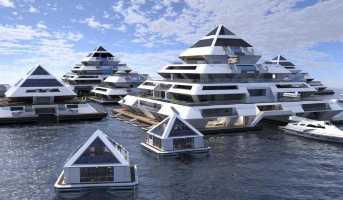 A cidade do futuro vai ser sob água