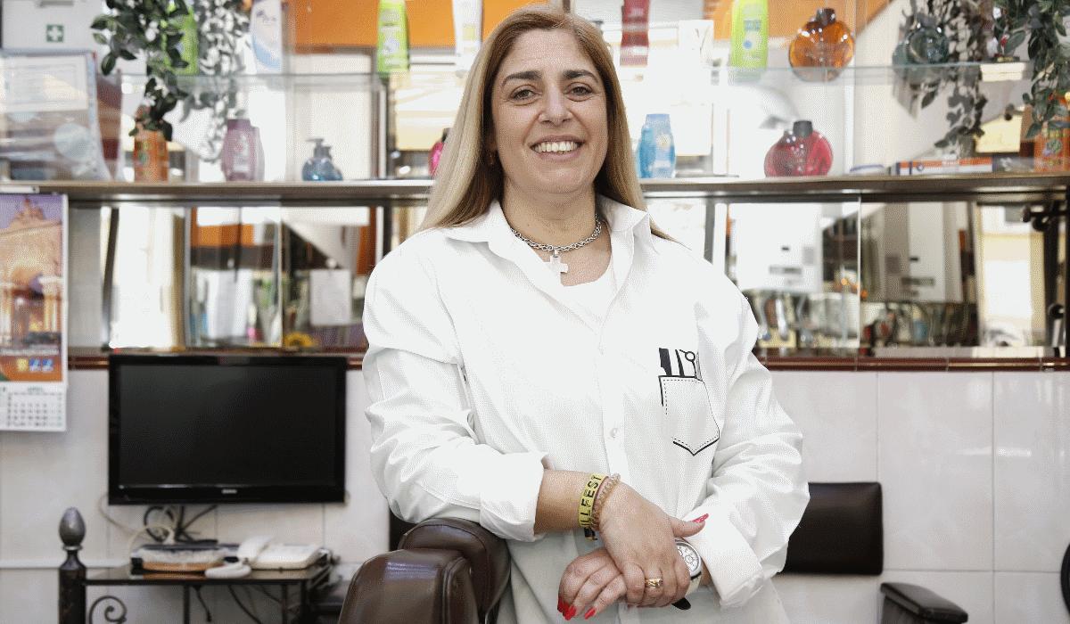 """Dália Antunes: """"Nem todas as pessoas conseguem ser barbeiro. É preciso um dom"""""""