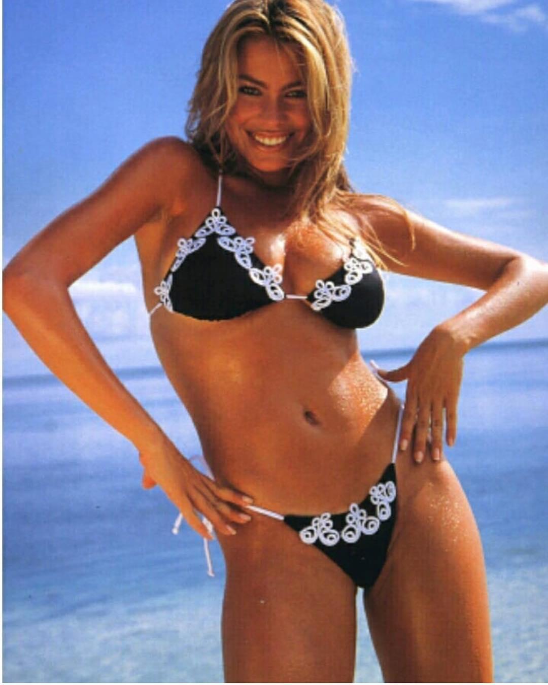 Sofia Vergara recorda como era nos anos 90