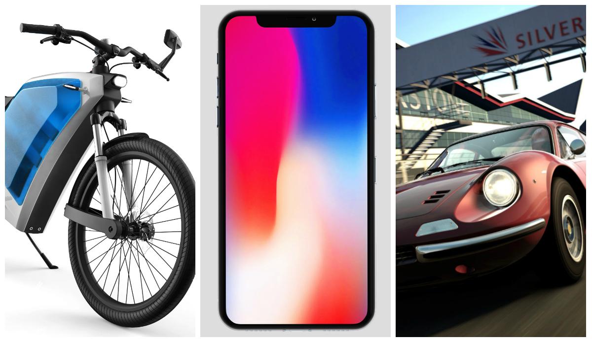 A mota que poupa, a maçã que cresce e o carro que vicia