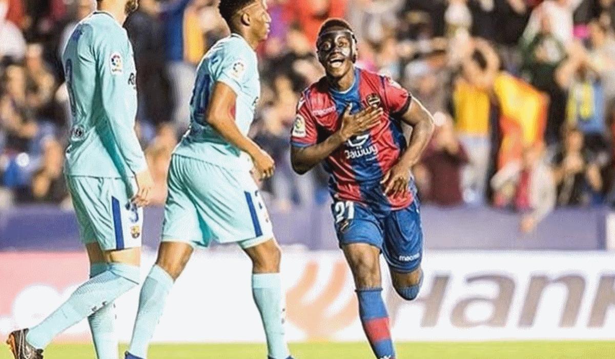Emmanuel Boateng. Dos tostões em Portugal ao hat-trick ao FC Barcelona