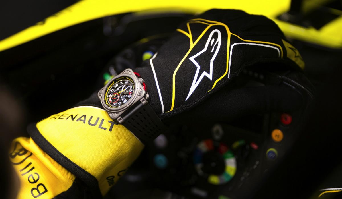 Os relógios que foram buscar inspiração a um carro da Fórmula 1
