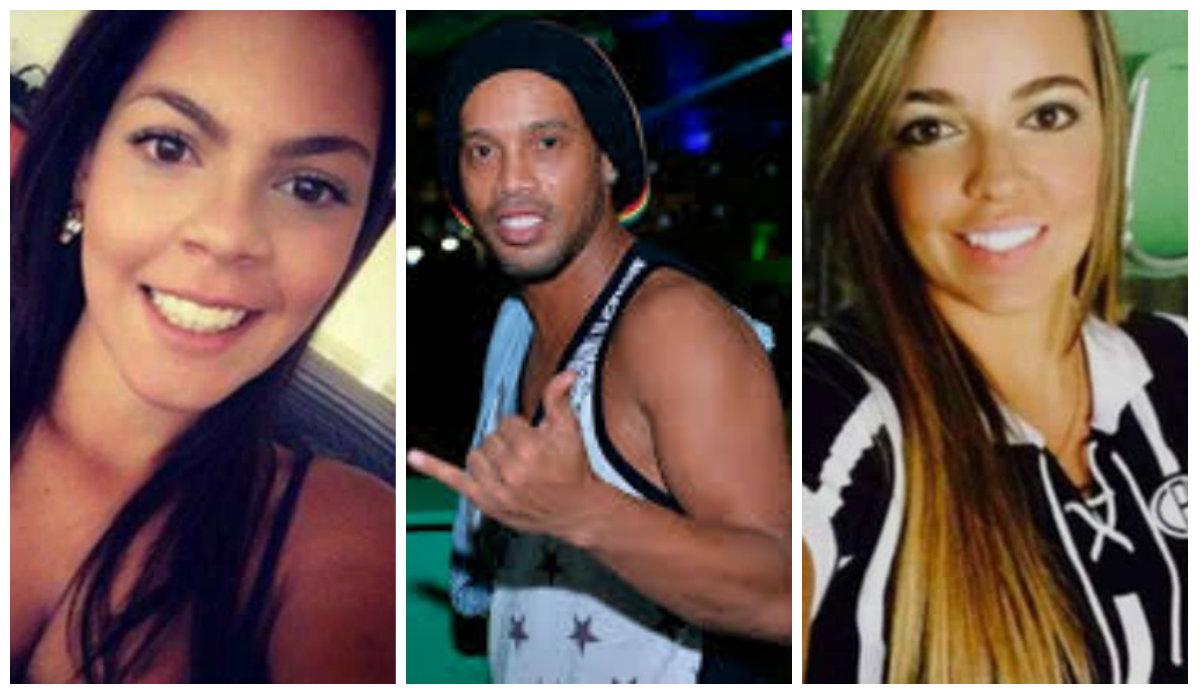 Ronaldinho e o casamento a três